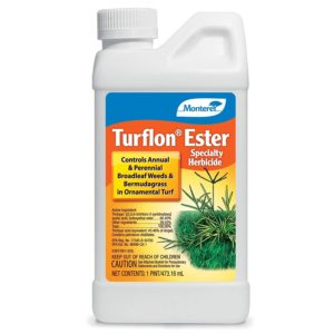 Monterey LG5518 Turflon Ester Specialty Herbicide Concentrate Broadleaf Weed Killer for Lawns