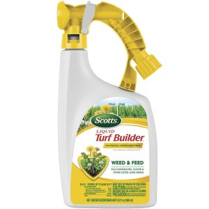 Scotts Liquid Turf Builder with Plus 2 Weed Control Fertilizer